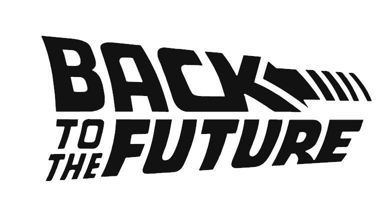 Back to The Future Inspired Movie Logo Vinyl Decal for Car, Home, Yeti Tumbler, Electronics