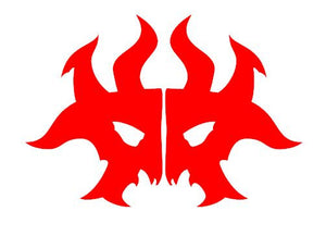 Magic The Gathering Guilds of Ravnica Rakdos Decal for your deck box, laptop, car