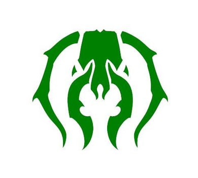 Magic The Gathering Guilds of Ravnica Golgari Decal for your deck box, laptop, car