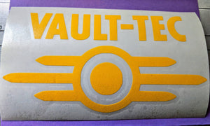 Fallout Video Game Inspired Vault Tec Vinyl Decal for Car, Home, Laptop, Yeti