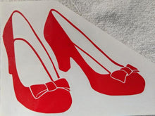 Load image into Gallery viewer, Wizard of Oz Dorothy's Ruby Slippers Vinyl Decal for Car, Home