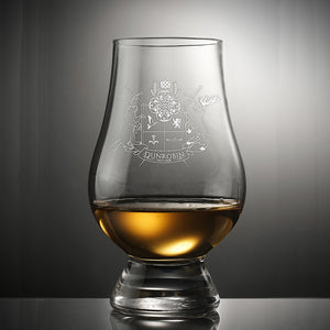 Crystal Whisky Glass Collection  Imported from Scotland - Dunrobin Distilleries