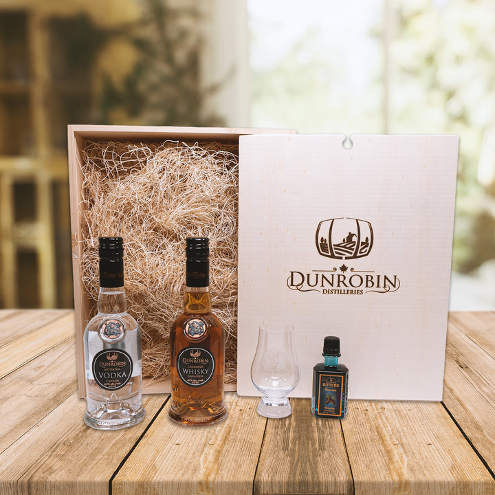 The Pioneer - Whisky & Vodka Gift Box - Dunrobin Distilleries