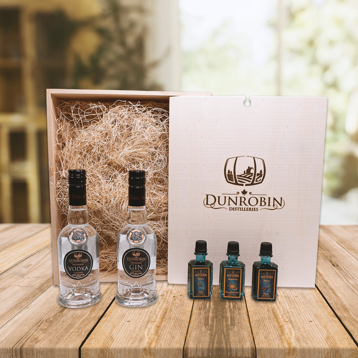 The Pioneer - Vodka & Gin Gift Box - Dunrobin Distilleries