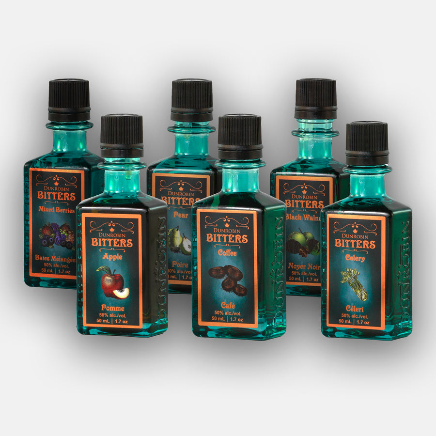 Vodka Cocktail Bitters - 6 Pack (50mL) - Dunrobin Distilleries