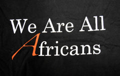 We Are All Africans Short-sleeved T-shirt