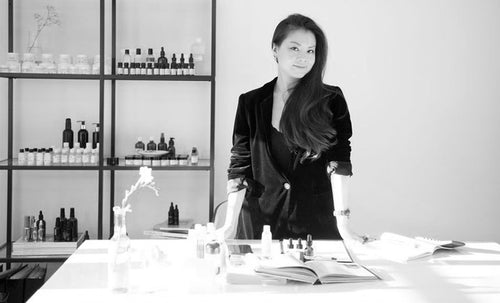 Fondatrice: Ada Ooi, Founder of 001 Skincare London