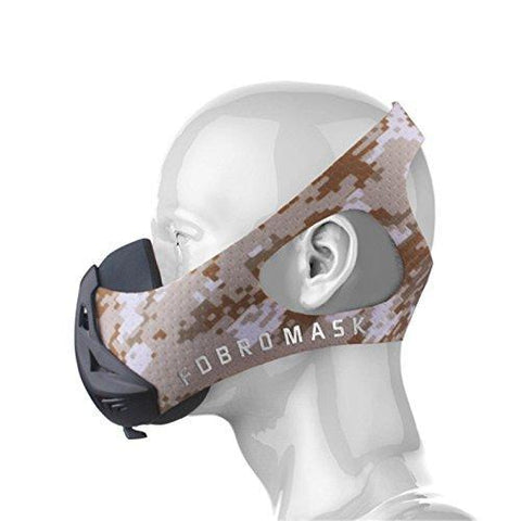 The Camo Desert FDBRO Training Mask 3.0
