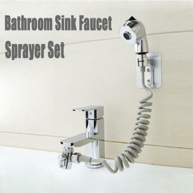 Quick Connect Sink Bathroom Faucet Sprayer Set