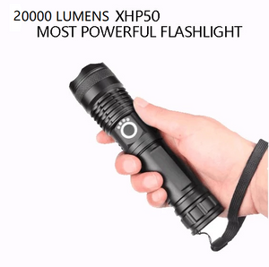 ONLY TODAY 50% OFF-POWERFUL FLASHLIGHT(Buy 2 Free Shipping)
