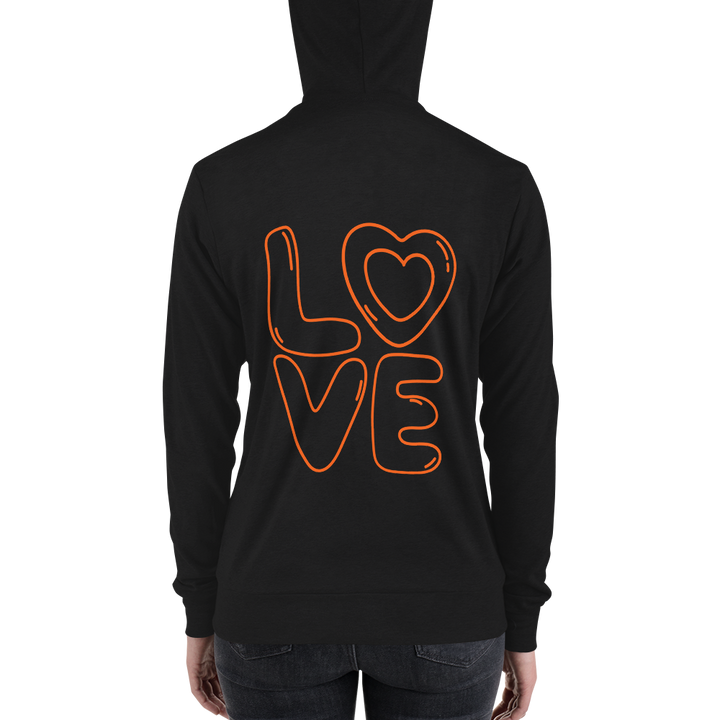 Fall In Love Women Full zip hoodie - Slate & Reverence