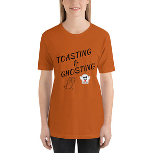 Toasting and Ghosting Short-Sleeve Unisex T-Shirt - Slate & Reverence