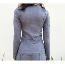 Load image into Gallery viewer, Grey full sleeves top