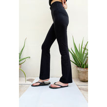 Load image into Gallery viewer, Boot cut pants gym wear in Pakistan