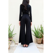 Load image into Gallery viewer, Black palazzo pants