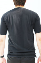 Load image into Gallery viewer, Men's black seamless shirt