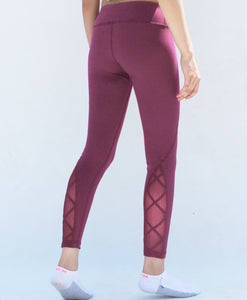 Persian plum leggings