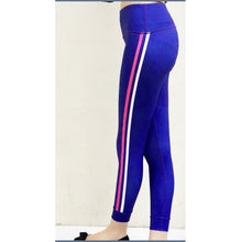 Load image into Gallery viewer, Blue jogger tights