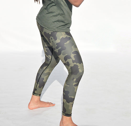 Camoflouge tights