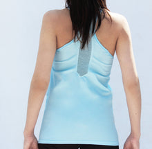Load image into Gallery viewer, Baby blue seamless tanktop