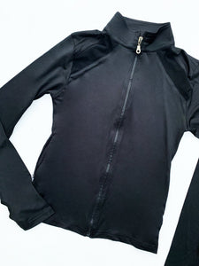 Black dri-fit jacket
