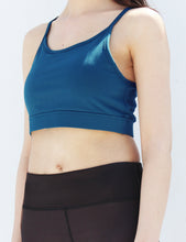 Load image into Gallery viewer, Sapphire 5 strap back sports bra