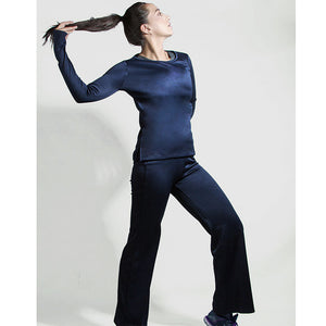 Navy blue twinset