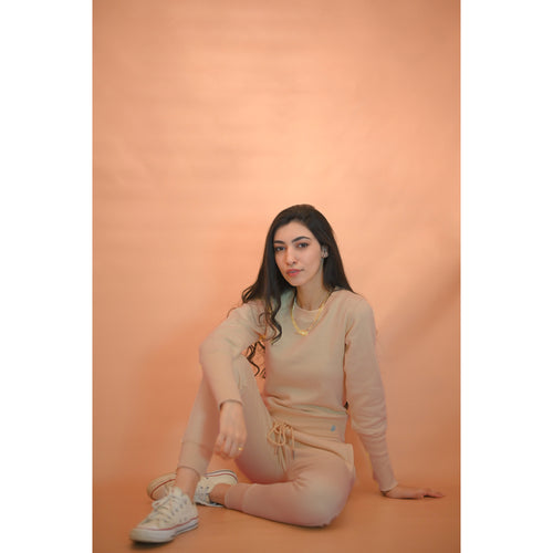 Sand color tracksuit- FINAL SALE