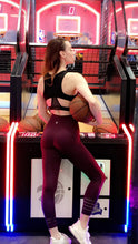 Load image into Gallery viewer, Maroon Dri-fit sports bra