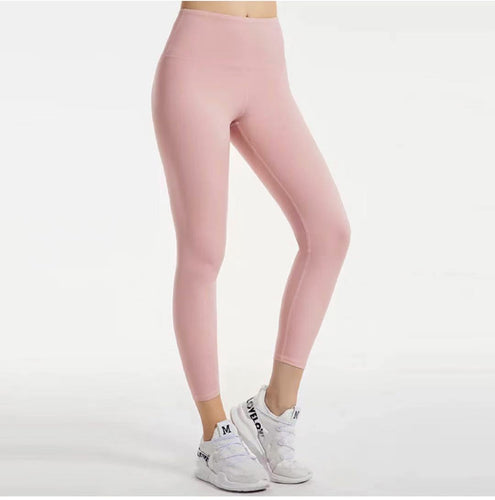 Champagne compression leggings