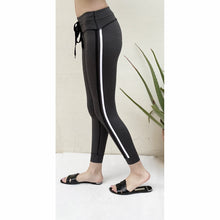 Load image into Gallery viewer, Racer grey jogger tights