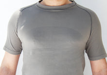Load image into Gallery viewer, Men's grey seamless shirt