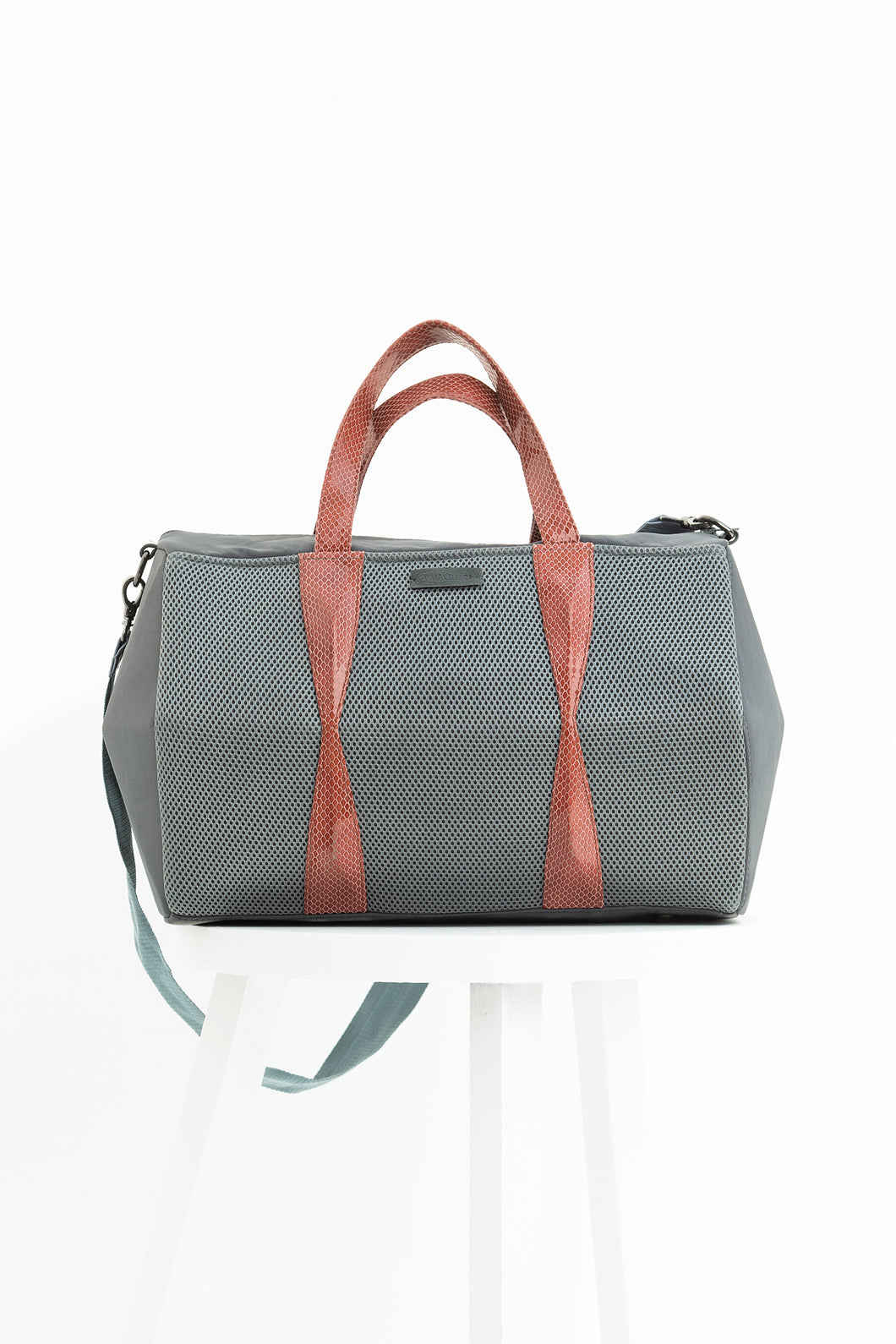 Suave Grey Duffle
