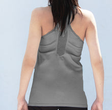 Load image into Gallery viewer, Grey seamless tanktop
