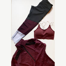 Load image into Gallery viewer, Tri-color mahogany leggings