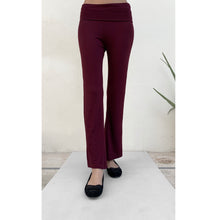 Load image into Gallery viewer, Burgundy Yoga pants