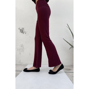 Burgundy Yoga pants