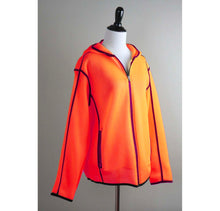 Load image into Gallery viewer, Orange Unisex mesh jacket