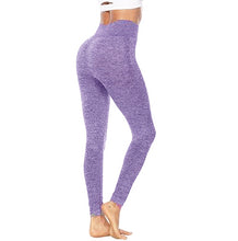 Load image into Gallery viewer, Lilac seamless leggings