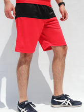 Load image into Gallery viewer, Red Men's shorts