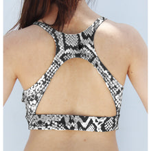 Load image into Gallery viewer, Snake skin sports bra