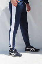 Load image into Gallery viewer, Men's Navy tracksuit set