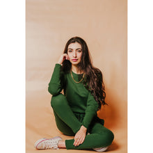 Load image into Gallery viewer, Emerald green tracksuit- FINAL SALE