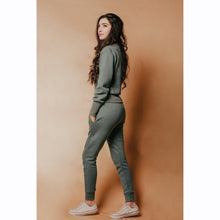 Load image into Gallery viewer, Teal blue tracksuit- FINAL SALE