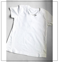 Load image into Gallery viewer, White half sleeves top