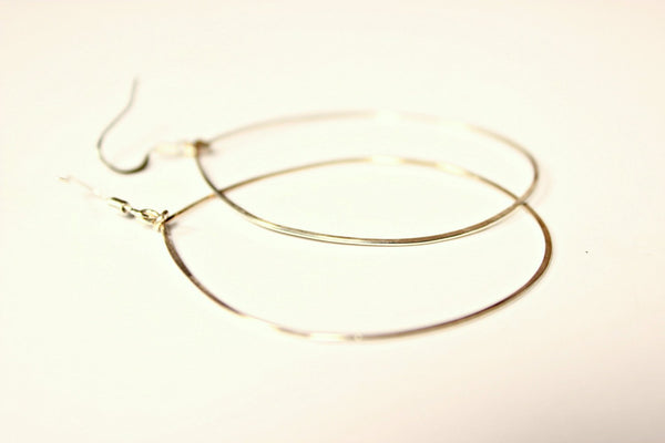 Silver Hoops Earrings