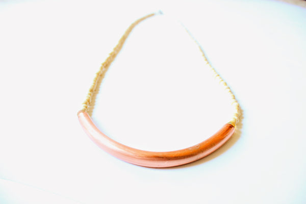 Gold and Copper Necklace