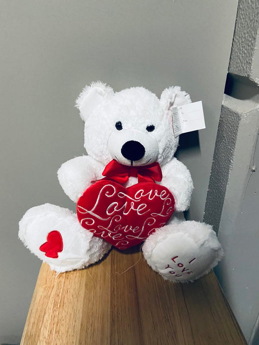 White Bear with a Heart