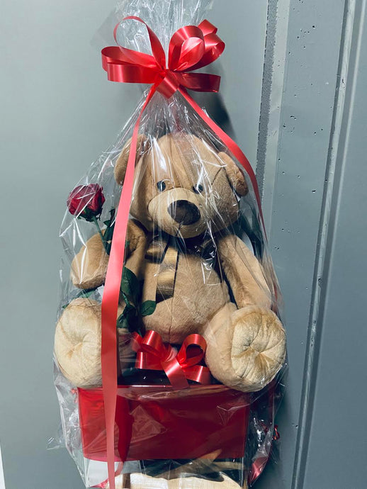 Large Brown Bear Hamper