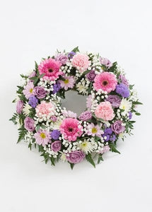 Florist Choice Pastel Wreath
